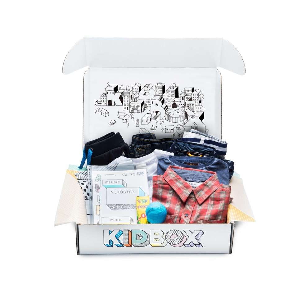 KIDBOX delivers clothing that is curated to your