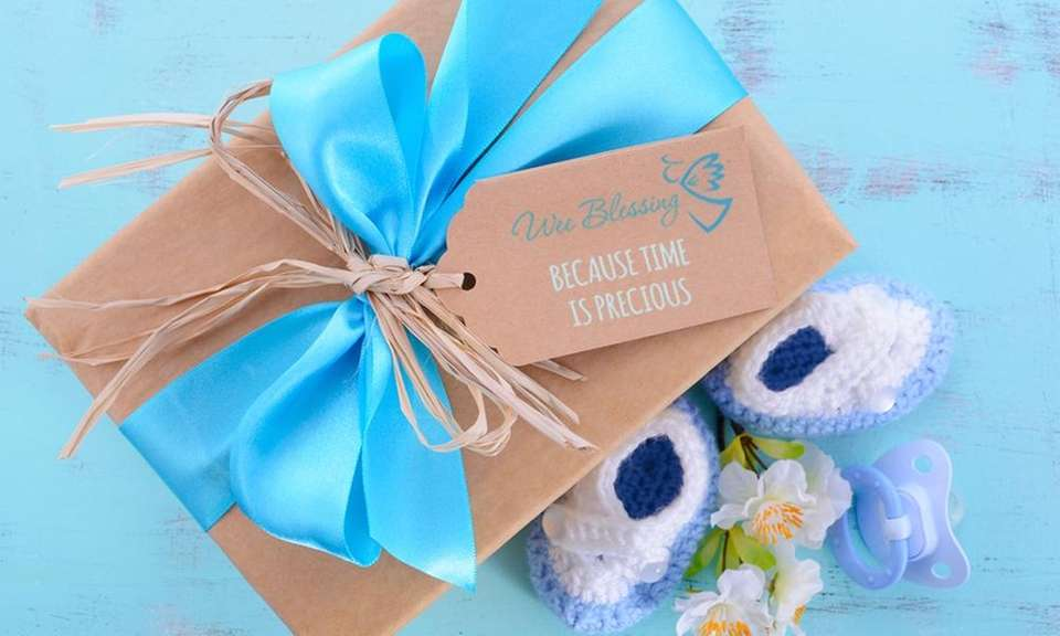 Wee Blessing sends a customized box tailored to