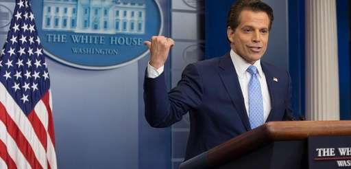 White House Communications Director Anthony Scaramucci attends a