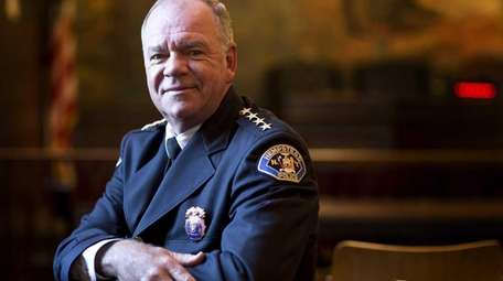 Hempstead Village Police Chief Michael McGowan on Jan.