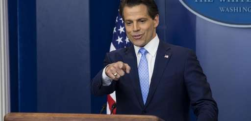 Anthony Scaramucci, director of communications for the White