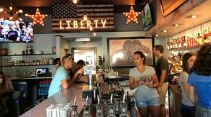 Liberty Burger & Beer Co. in St. James