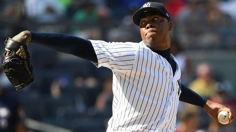 Aroldis Chapman is entrenched as the Yankees closer,