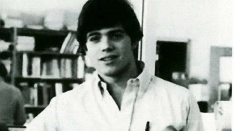 Anthony Scaramucci in the 1982 yearbook of Paul
