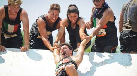 It was all about teamwork at the Pyramid