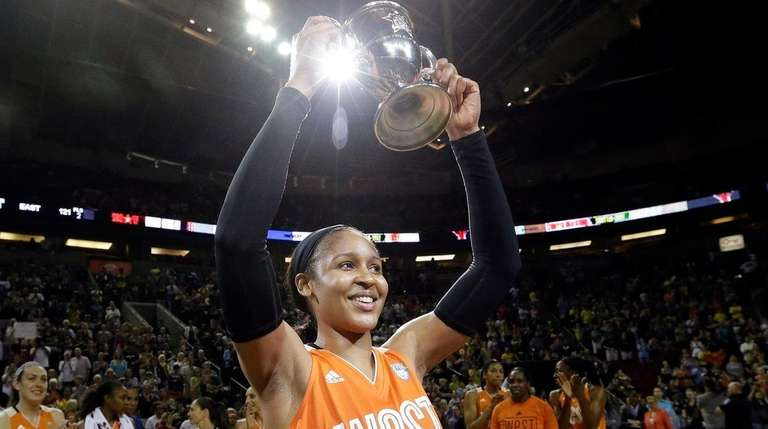 Minnesota Lynx's Maya Moore, of the Western Conference,