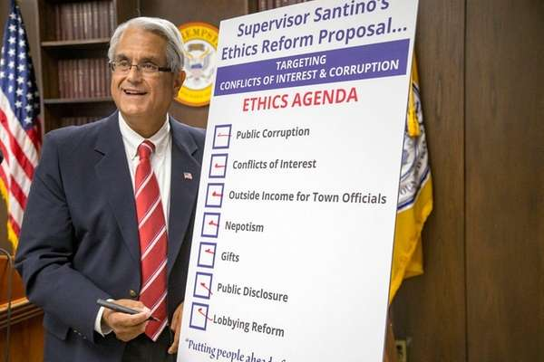Town of Hempstead Supervisor Anthony Santino discusses his