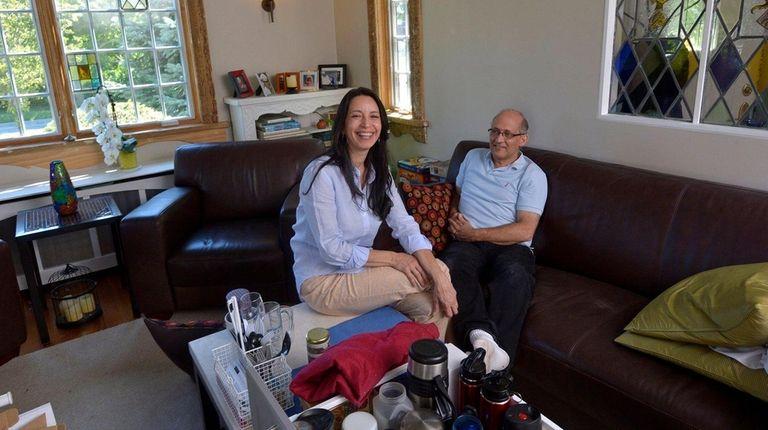 Lourdes Eichholz, 55, and her husband, Leonard, 56,