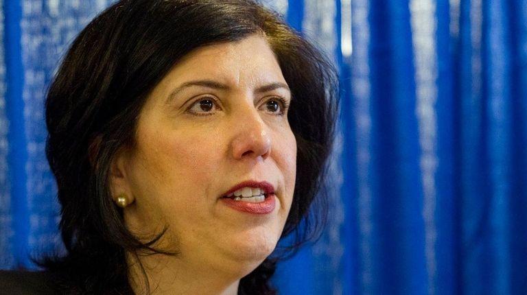 Nassau District Attorney Madeline Singas in Mineola on