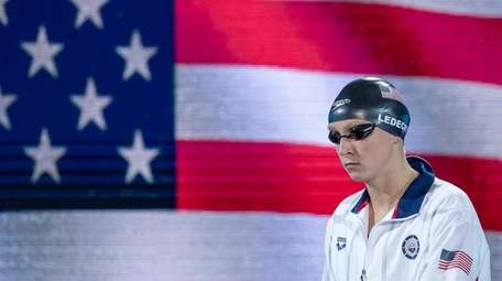 Katie Ledecky of the United States of America