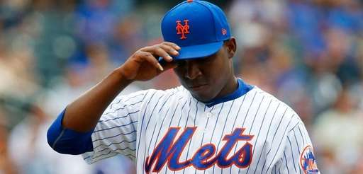 Rafael Montero #50 of the New York Mets