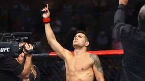 Middleweight Chris Weidman before fighting Kelvin Gastelum during