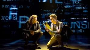 Mike Faist and Tony winner Ben Platt, right,