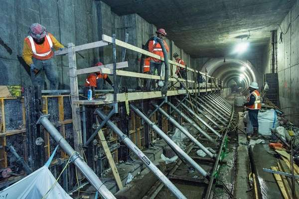 East Side Access crews are