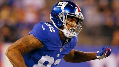 Roger Lewisof the New York Giants against the