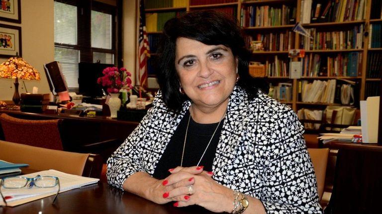Lucille Iconis, superintendent of the Massapequa school district,
