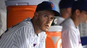New York Mets starting pitcher Zack Wheeler was