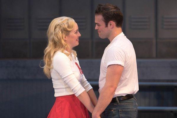 Liana Hunt as Sandy and Sam Wolf as
