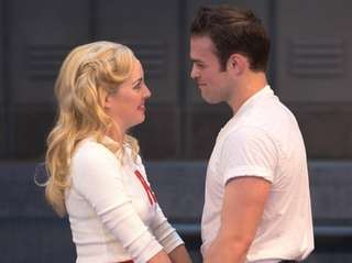 Liana Hunt as Sandy and Sam Wolf as