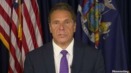 Gov. Andrew M. Cuomo on Wednesday, July 12,
