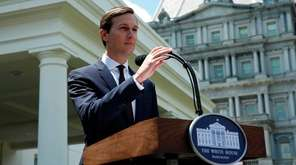 Senior Adviser to the President Jared Kushner speaks