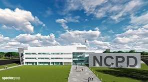 A rendering of a new Nassau County Center