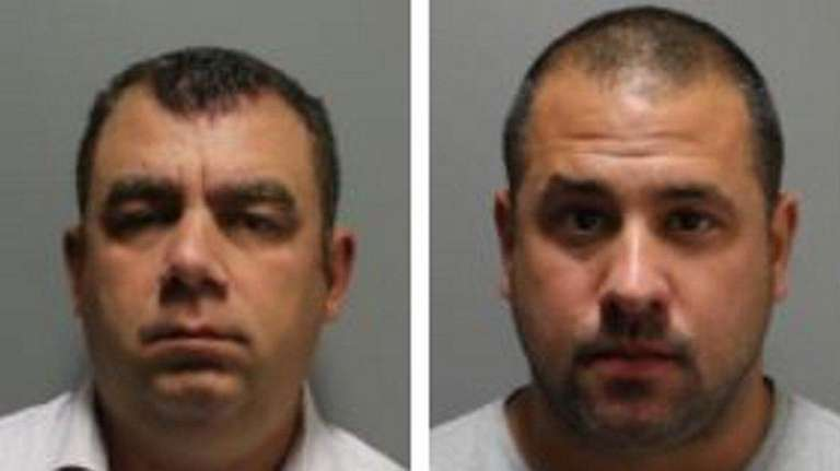 From left, Matthew Divisconti, 38, of Manorville; Christopher