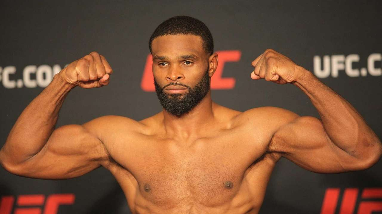 Several UFC Long Island main-card fighters were asked