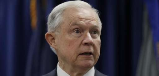 Attorney General Jeff Sessions speaks in Philadelphia on