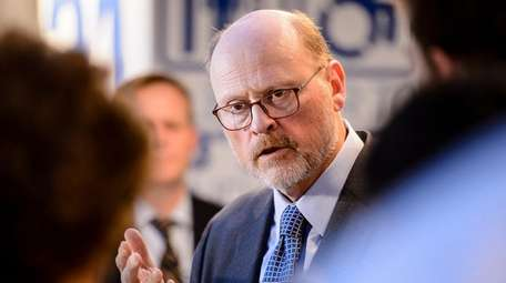 MTA chairman Joe Lhota announced the MTA's plan