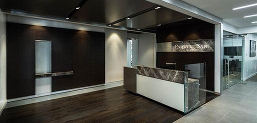 Esquire Bank headquarters at 100 Jericho Quadrangle in