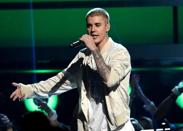Justin Bieber at the Billboard Music Awards in