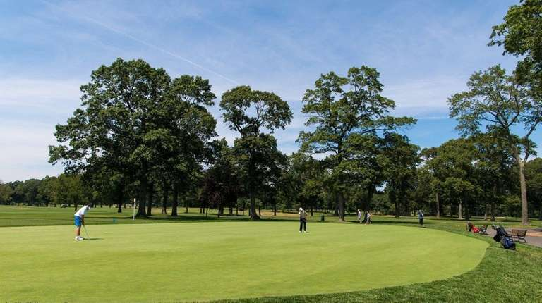 Bethpage State Park offers five golf courses, playing