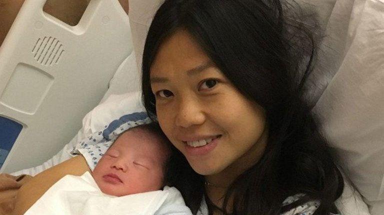 Slain NYPD Officer Wenjian Liu's widow, Pei Xei