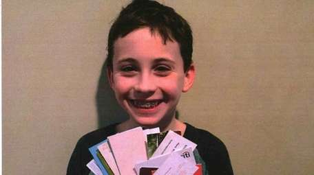 Kidsday reporter Aaron Salit likes to collect business