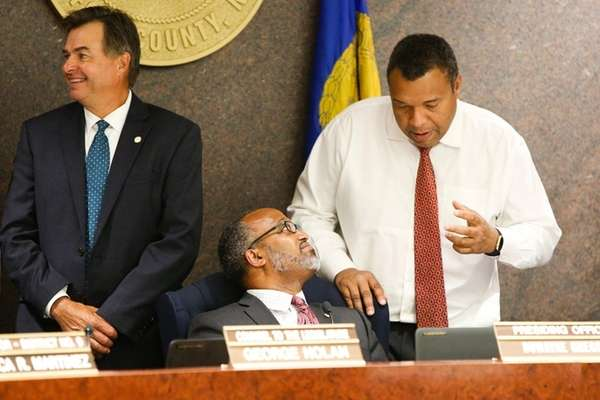 Presiding Officer and Suffolk County Legis. DuWayne Gregory,