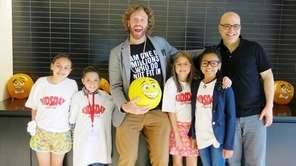 Actor-comedian T.J. Miller and director Tony Leondis met