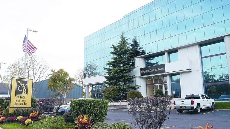New York Community Bancorp in Westbury saw shares