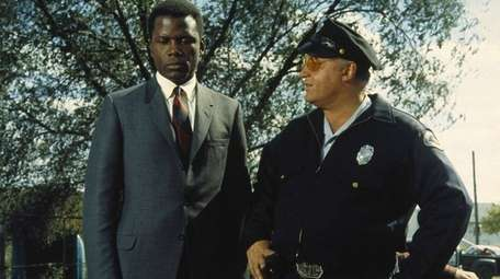 Sidney Poitier and Rod Steiger in