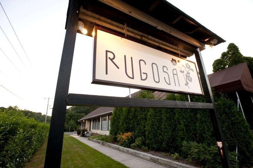 The exterior of Rugosa restaurant at 290 Montauk
