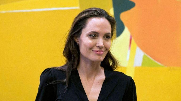 Angelina Jolie discussed her split with Brad Pitt