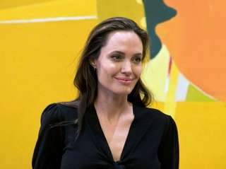 Angelina Jolie discussed her split with Brad Pitt