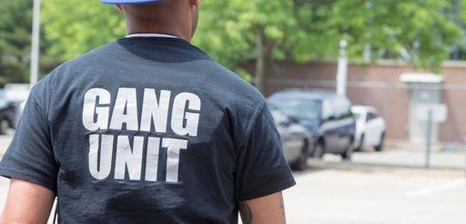 Member of the gang unit leaves Nassau Police