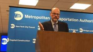 At a meeting of the Metropolitan Transportation Authority