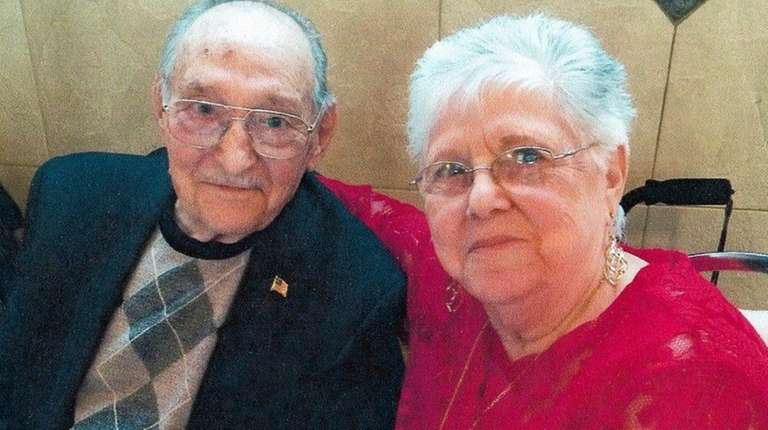 Alfonso and Phyllis Caggiano of East Meadow celebrated