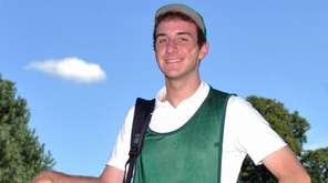 J.T. Surlis, caddie at Southward Ho Country Club