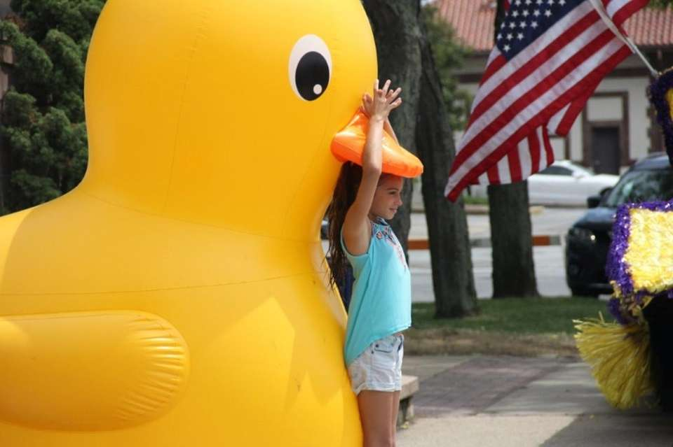 Our big yellow duck!