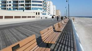 A view of the Long Beach boardwalk near