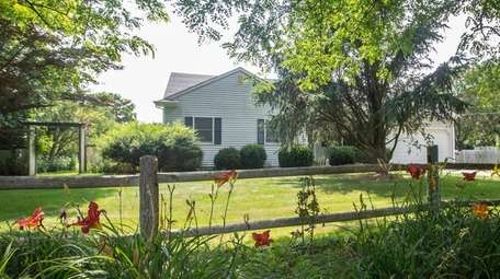 This 3-bedroom, 2-bath ranch in Southold is listed