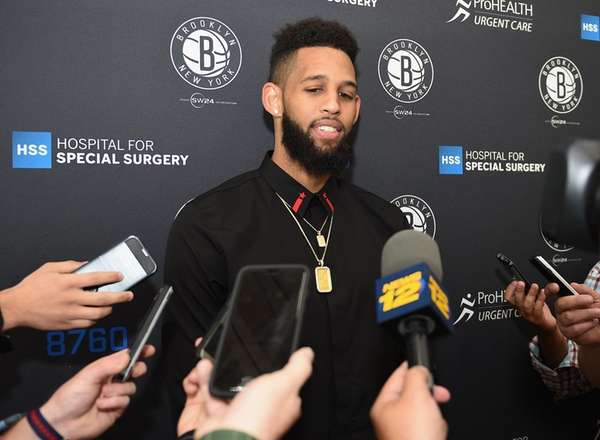 Brooklyn Nets newly acquired guard/forward Allen Crabbe answers
